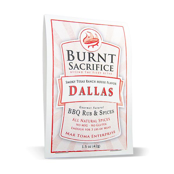 Dallas spicy BBQ rub- Dry rub | Brisket-beef-chicken | All natural-no  preservatives | Burnt Sacrifice