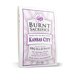 Kansas City BBQ Rub Packets