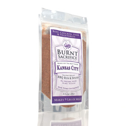 Kasnsas City BBQ Rub - Amazin on steaks, brisket, beef roasts, chuck roasts, pork, chicken and vegetables. A season salt replacer.