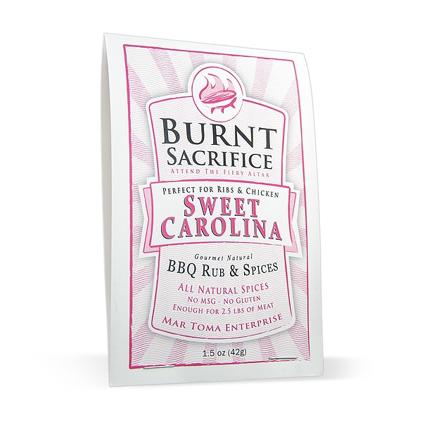 Sweet Carolina BBQ Rub Packets