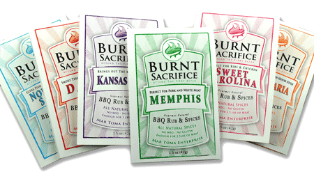 Variety Pack Rub Packets