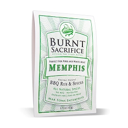 Memphis - Made for Pork Butts, and Ribs, but good on Chicken too!