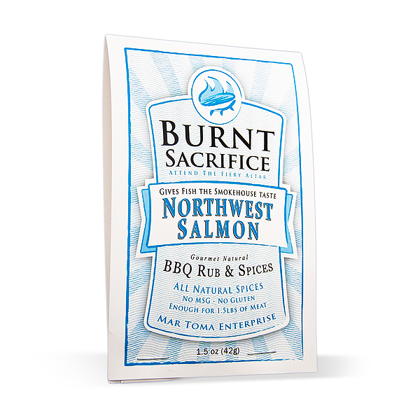 Northwest Salmon BBQ Rub Packets