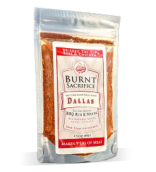 Dallas Jumbo single makes 9 lbs meat - Spicy East Texas ranch house taste. Made for Beef but good on Chicken too!