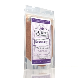 Kansas City BBQ Rub  3.5 OZ Jumbo Packets